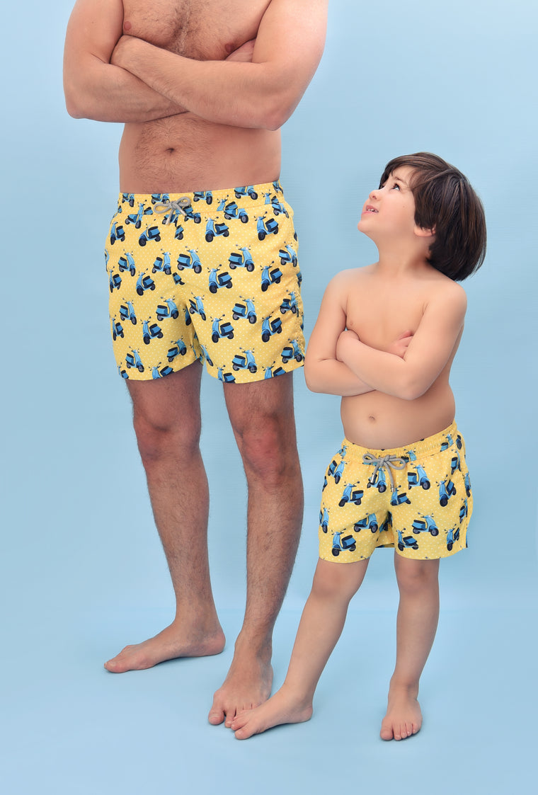 Yoli & Co Boys Vespa Swim Short