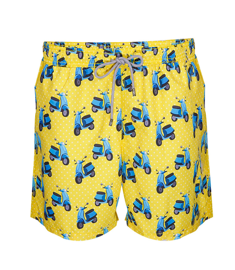 Yoli & Co Men's Vespa Swim Shorts
