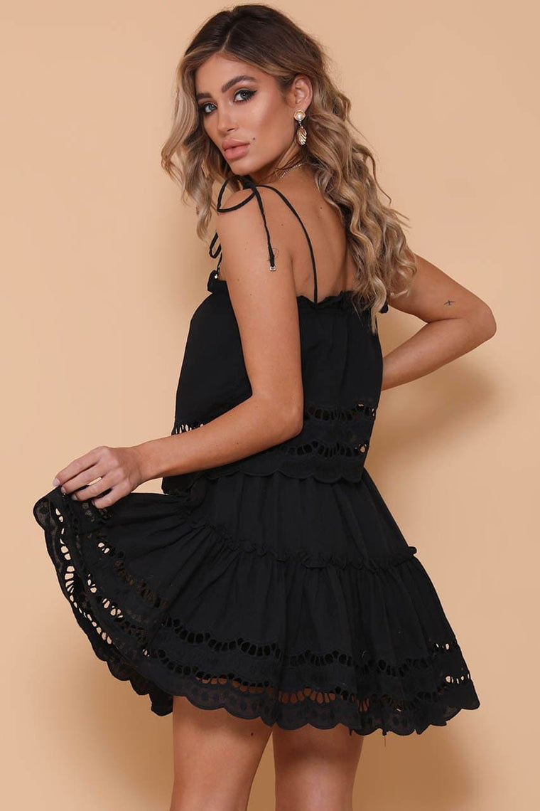 Alannah Skirt Black