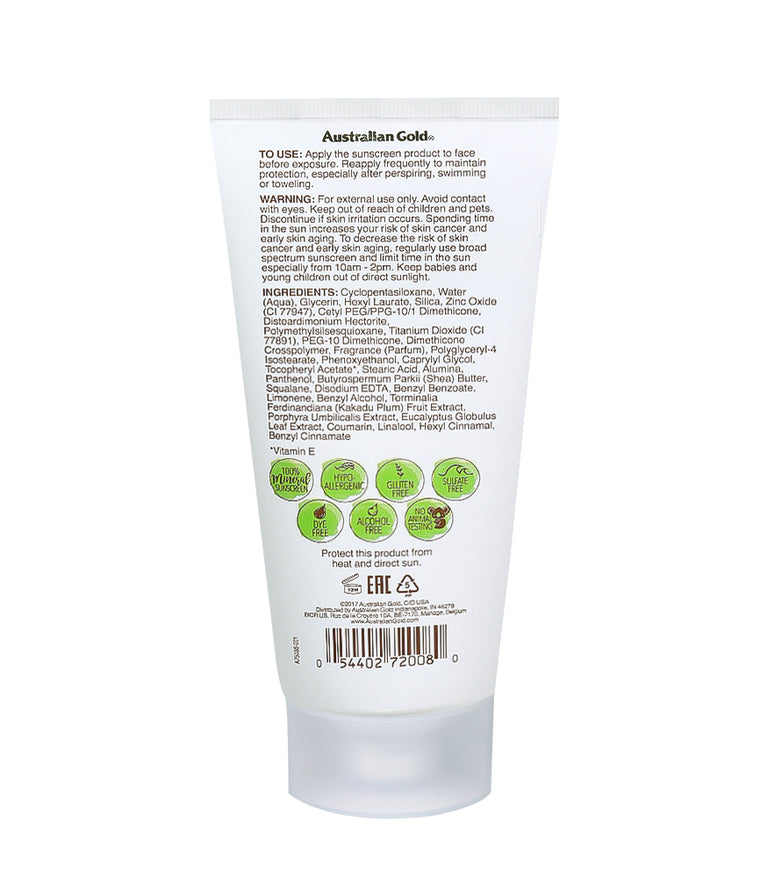 Australian Gold Botanical SPF 15 Mineral Lotion Sunscreen
