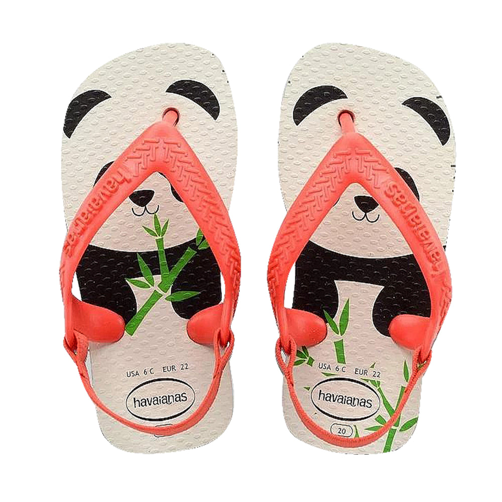 Baby Pets 2 Flip Flops White/Strawberry