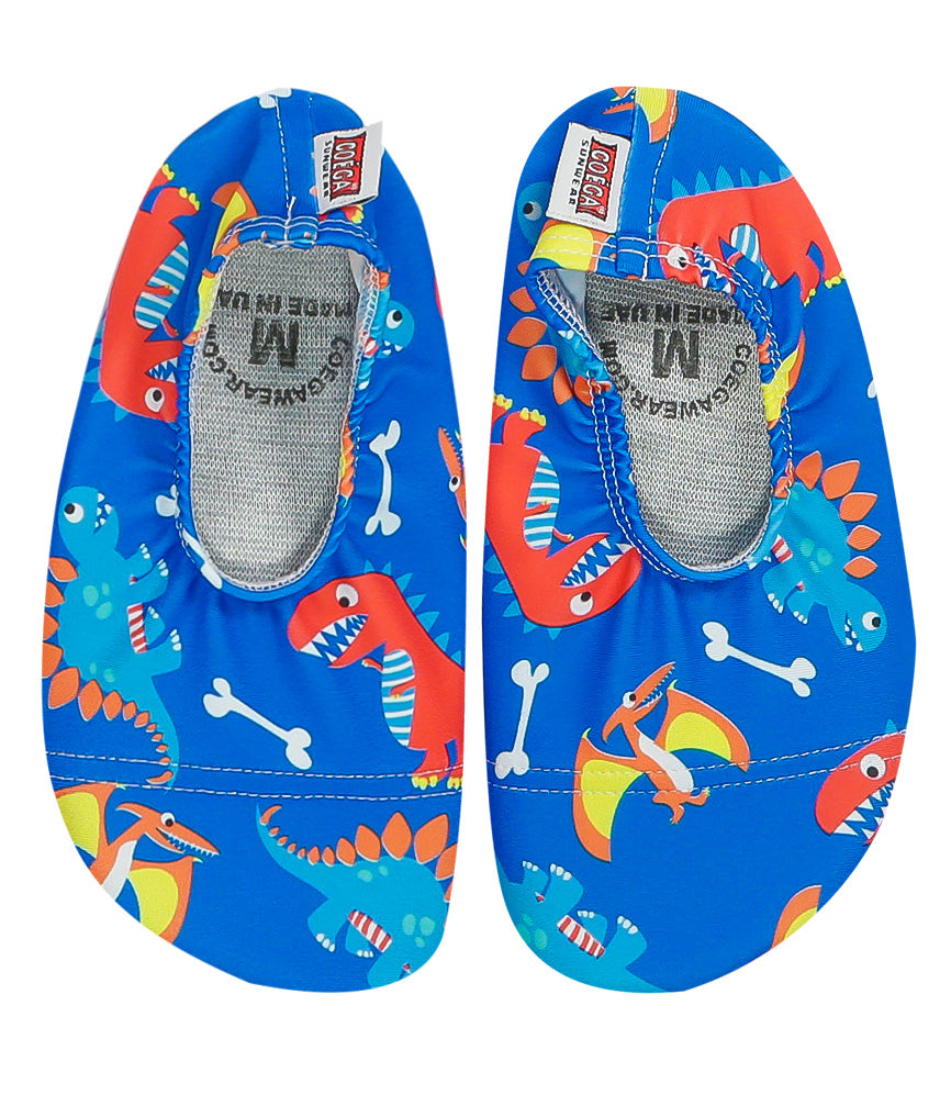 COÉGA Dinosaurs Pool and Beach Shoes