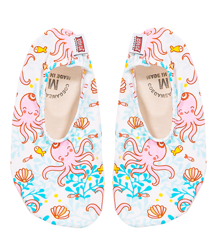 COÉGA Girls Sea Life Pool and Beach Shoes