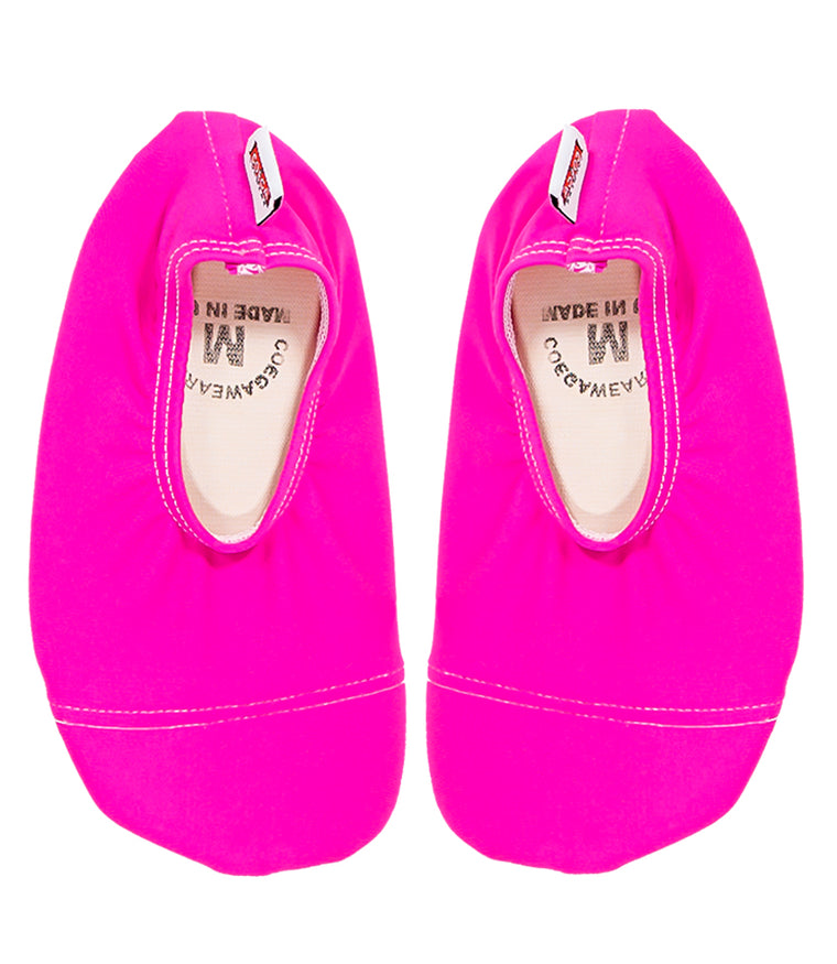 Girls Swim Shoes in Hot Pink