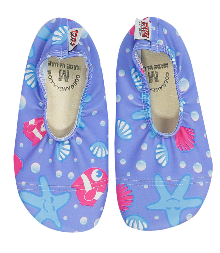 COÉGA Under Water World Pattern Pool and Beach Shoes