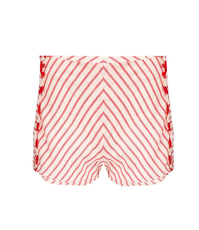 Dodo Bar Or Womens Red Short Pants