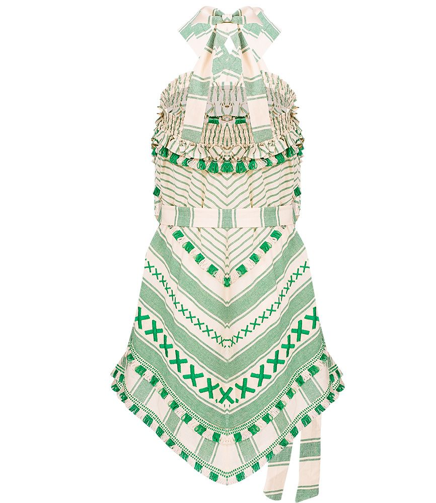 Dodo Bar Or Green York Dress | Sand Dollar UK