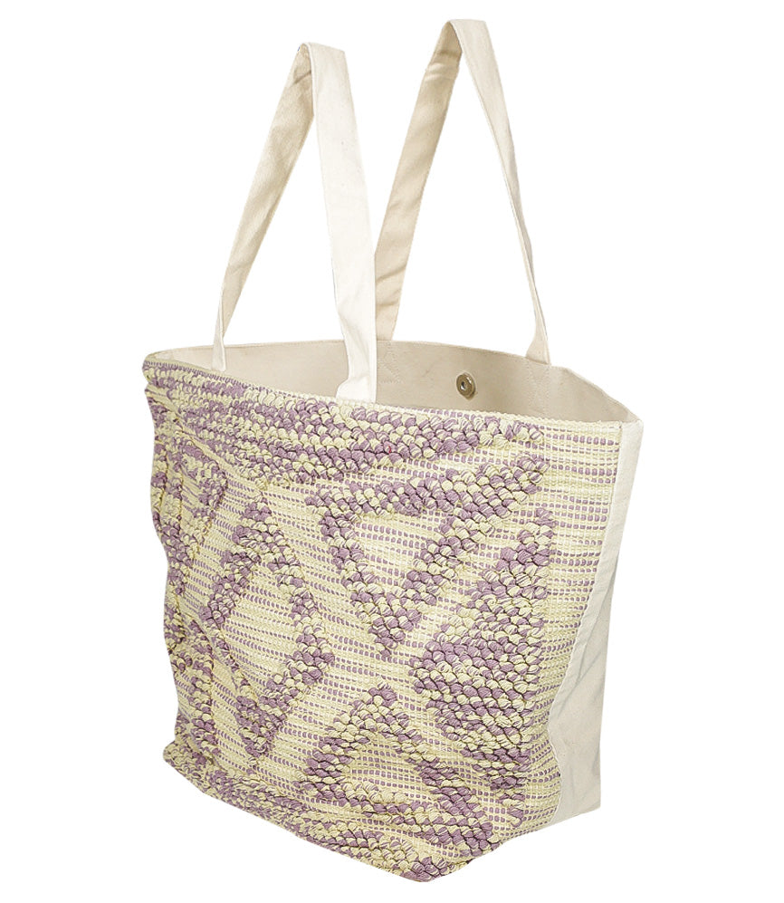 Hand Loomed Cotton Tote Bag