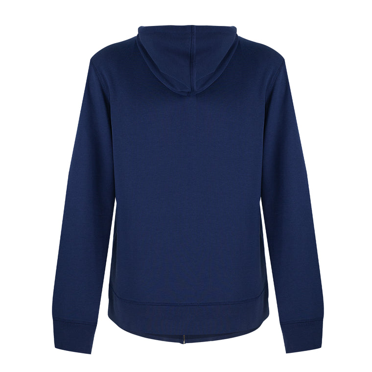 Hooded Tracksuit Top Navy Blue