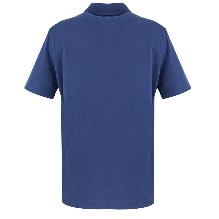 blue polo shirt | navy polo shirt