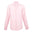 mens pink linen long sleeve shirt