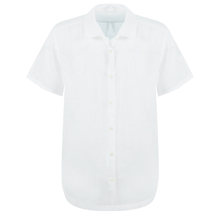 White Beach Shirt for Men