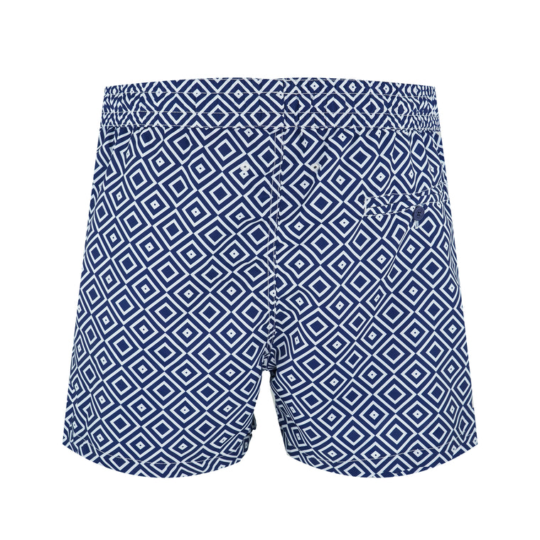 Size Guide for Geometric Swim Shorts