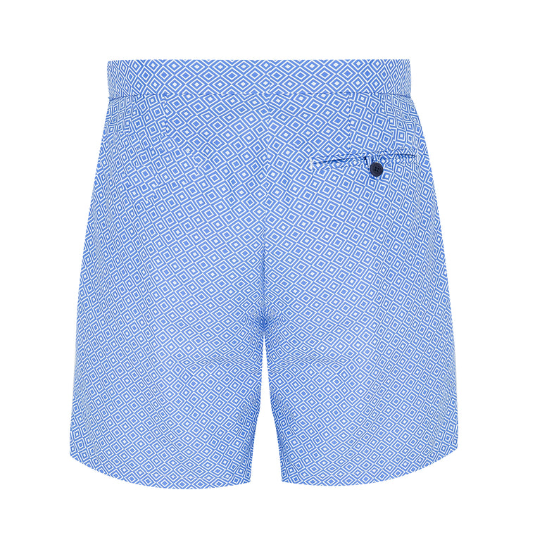 mens long baby blue swim shorts size guide