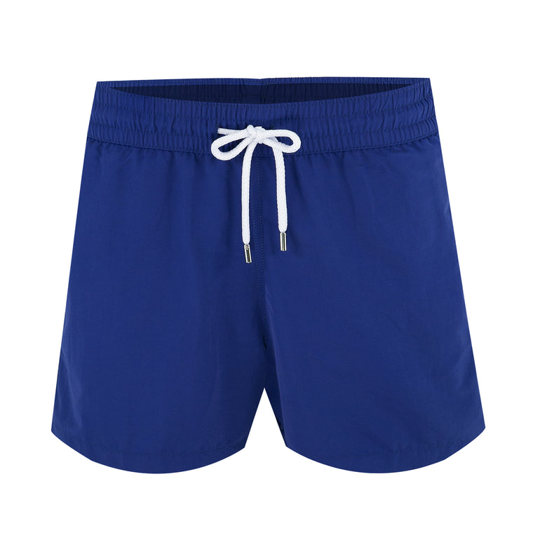 Mens Navy Swim Trunks