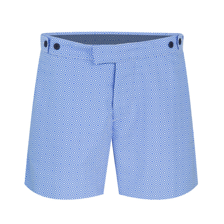 Tailored Swim Shorts in Light Blue