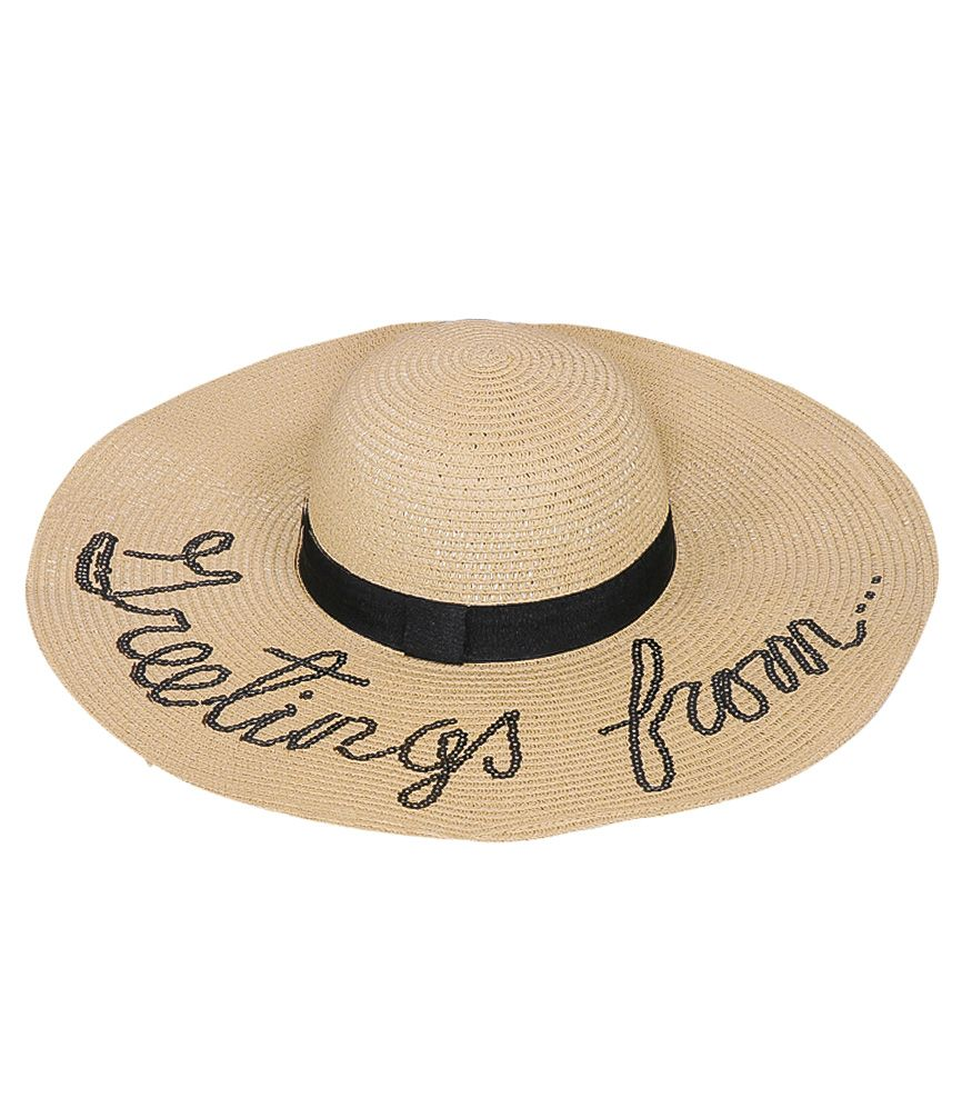 "SD Select ""Greetings From"" Wide Brim Sun Hat"