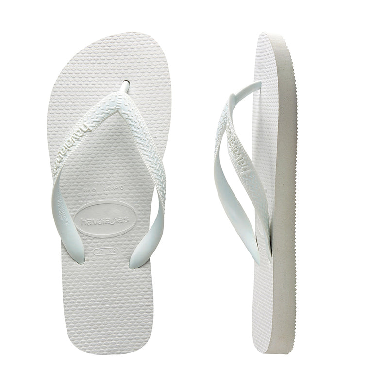 Kids Top Flip Flops White