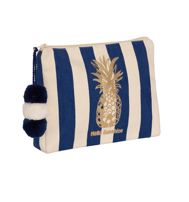 Girls Hello Sunshine Washbag Navy