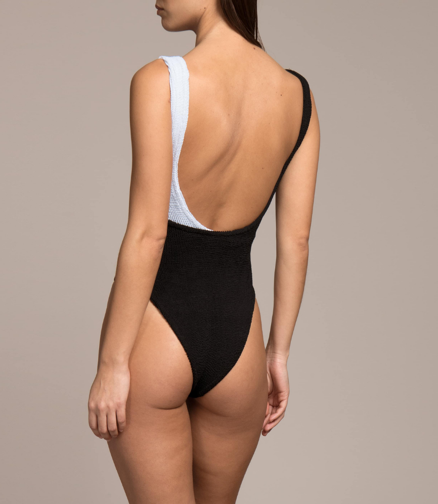 Kerry One Piece Black and White