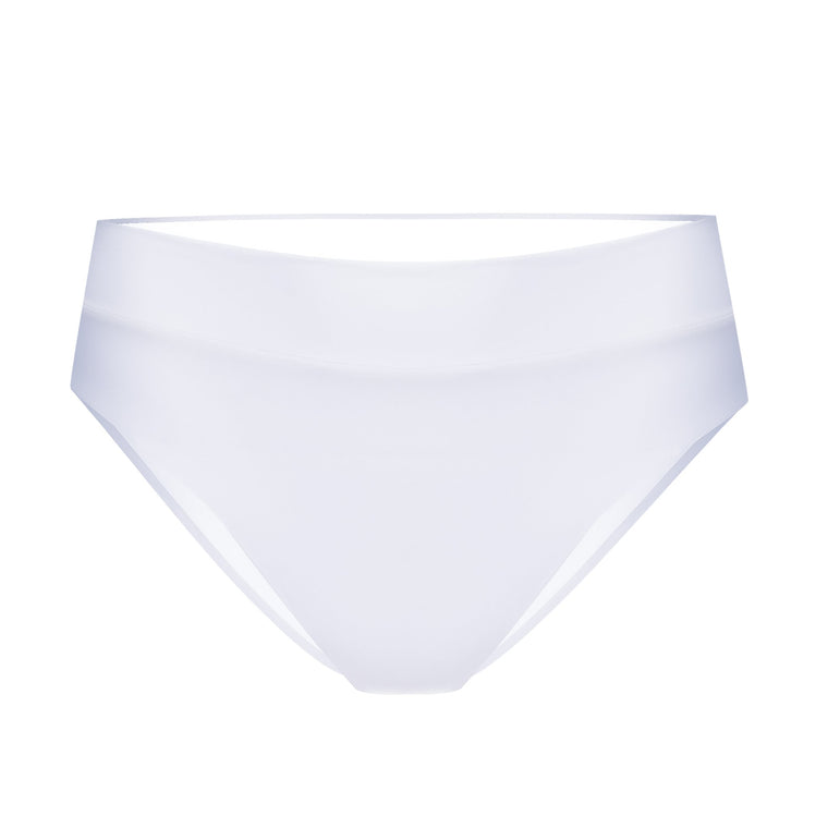 Ginger High Waist Bottoms Fresh White