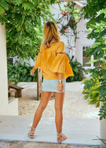 A Mango Melody Fira Top