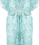 Robe Dress Monica Aqua