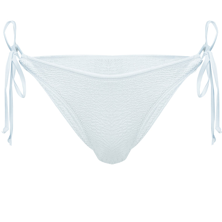 Jamacia Tie Side Bottoms in White
