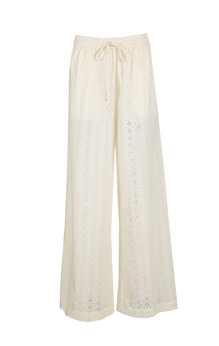 Marysia Montauk Pants in Panna