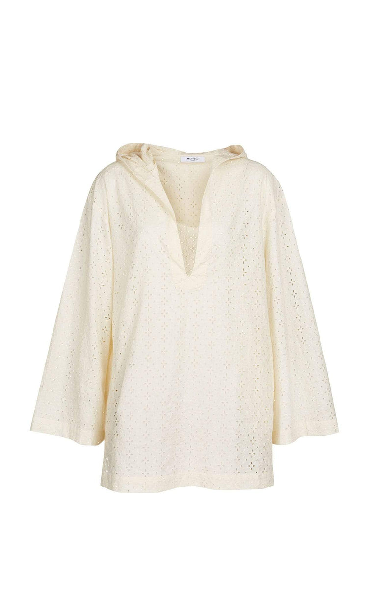 Womens Designer Tunic in Cream