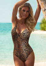 Bora Bora Cheetah Print Swimsuit
