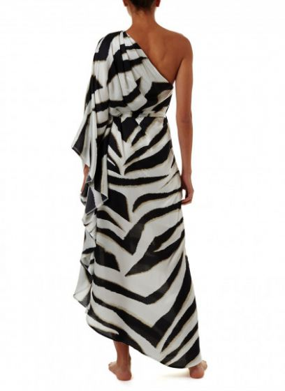 Melissa Odabash Lauren Zebra Long Dress