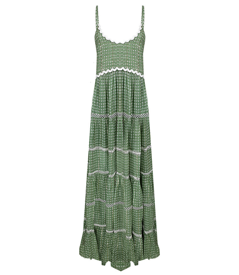 Robe Dress Manly Green