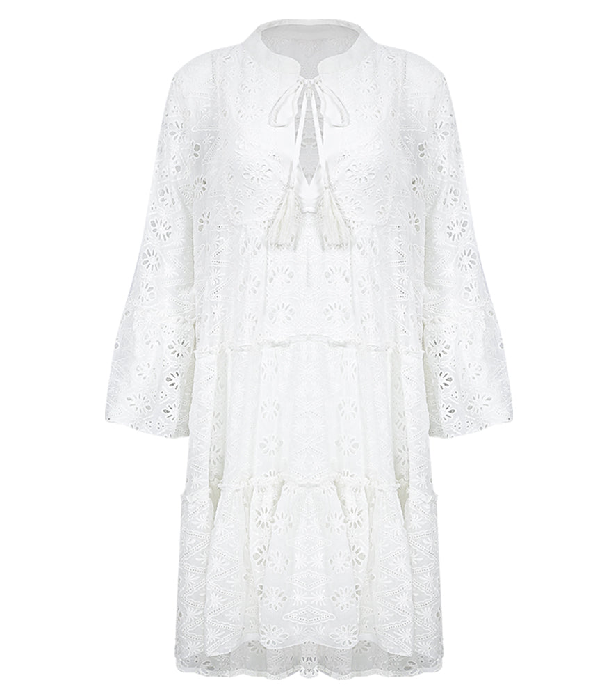 Robe Dress Roxie White Tu