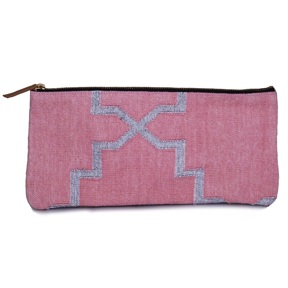 Moroccan Star Pouch Bag Pink