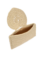 Heart Handle Clutch Bag Gold