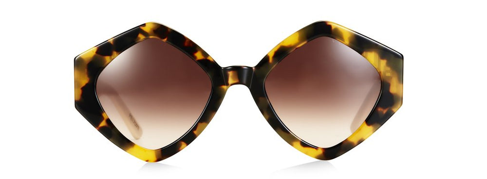 Pared Romeo & Juliet Dark Tortoise/Ivory Sunglasses