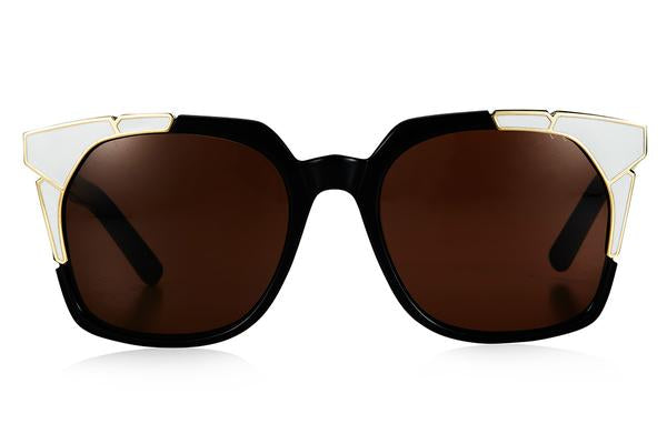 Pared Tutti & Fruitti Black/White Sunglasses