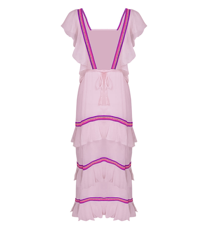 43e892609ef Sleeveless Maxi Dress in Light Pink