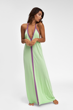 Pastel Green Designer Beach Cover Up | Sand Dollar UK