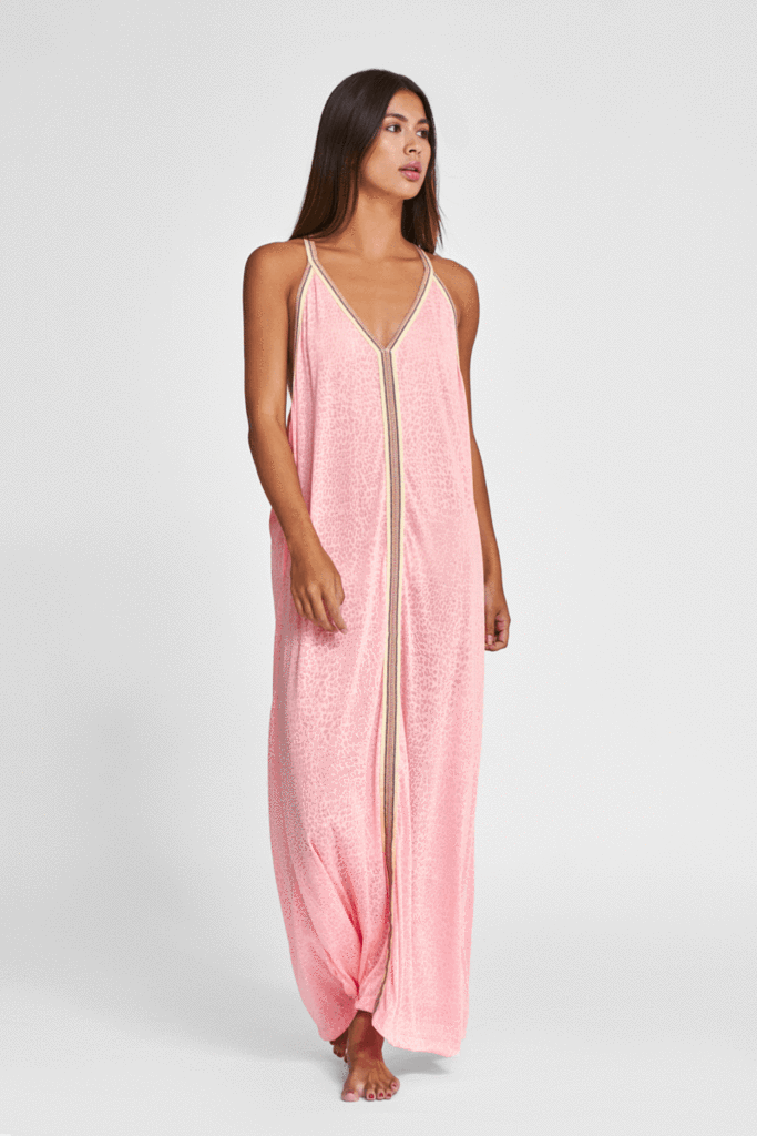 Pitusa Light Pink Beach Dress
