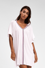 Pitusa White Luxury Beach Cover Up | Sand Dollar UK