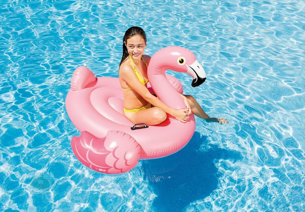 Flamingo Ride On Pool Float