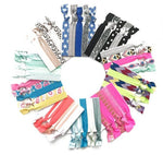 multi coloured popband london hair ties