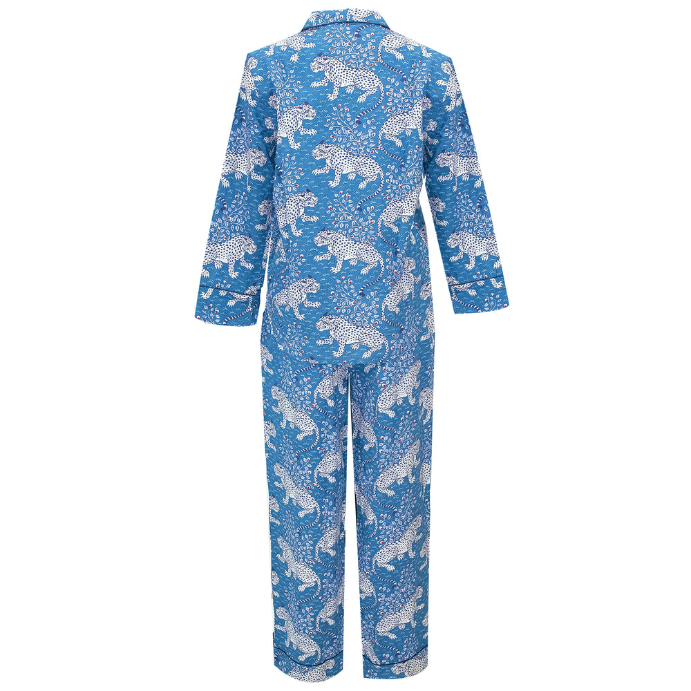 Bagheera Long Sleep Set in Indigo