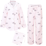 Eyes of the World Long Sleep Set in Blush