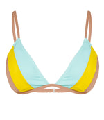 Rhythm Swimwear Colour Block Bikini Top