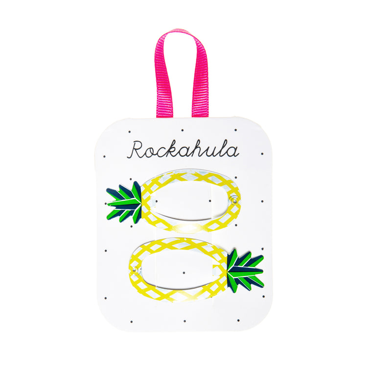 Rockahula Girls Hair Clips in Pineapple
