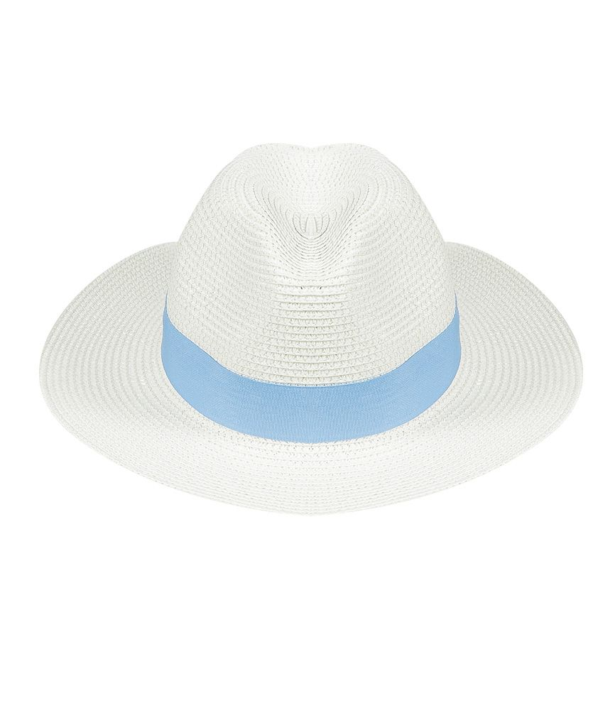 Ladies White Panama Hat | SD Select | Sand Dollar UK