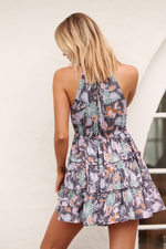 Florence Print Reef Mini Dress